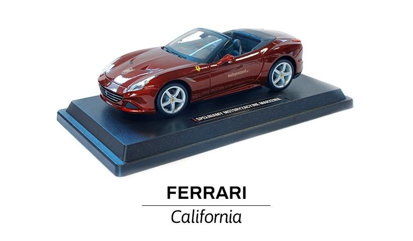 Ferrari California bordowa
