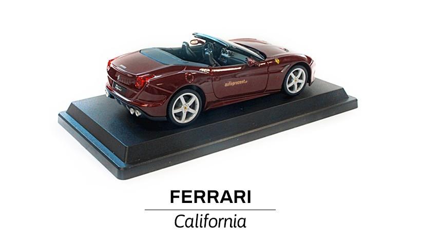 Ferrari California bordowa tył