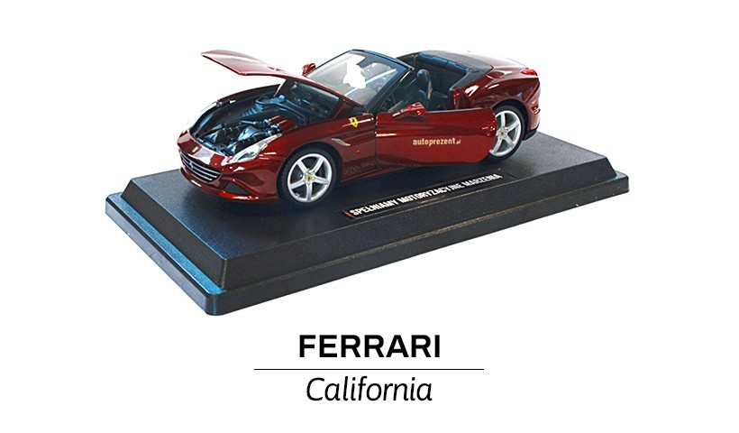Ferrari California bordowa przód
