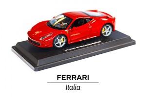 Ferrari 458 Italia samochodzik 1:24 przód