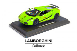 Modelik w skali 1:24 Lamborghini Gallardo