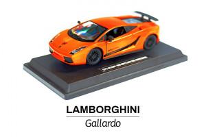 Modelik w skali 1:24 Lamborghini Gallardo pomarańczowe