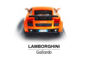Modelik w skali 1:24 Lamborghini tył