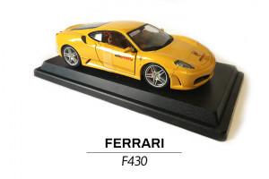 Ferrari F430 żółte modelik 1:24