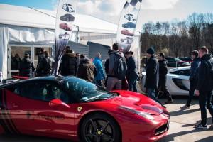 Ferrari Italia Mclaren 650S event