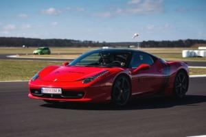 Ferrari Italia 458 jazda po torze