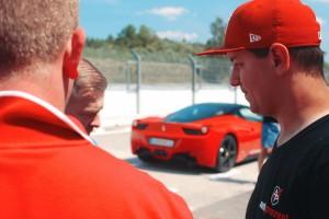 Ferrari Italia 458 na torze