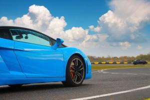 Lamborghini Gallardo na torze