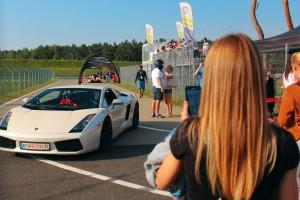 Lamborghini na torze