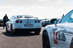 Nissan GTR jazda na torze