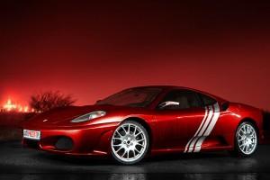 Jazda Ferrari F430 ulicami miast