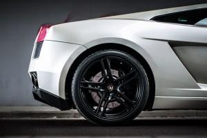 Koło z Lamborghini Gallardo