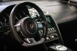 Kierownica z Lamborghini Gallardo