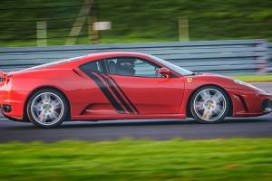 Ferrari F430 czerwone