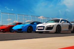Ferrari, Lamborghini i Audi na torze
