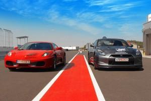 Ferrari F430 vs Nissan GTR