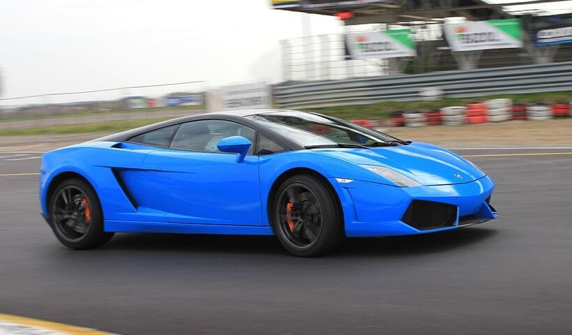 Lamborghini Gallardo w akcji