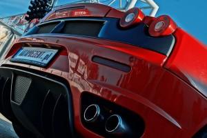 Rury wydechowe Ferrari F430