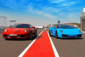 Ferrari i Lamborghini na torze w Kamieniu Śląskim