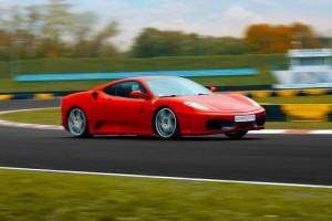 Ferrari F430 w akcji