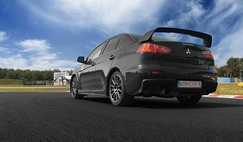 Mitsubishi Lancer z tyłu