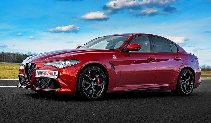 Alfa Romeo Giulia przód