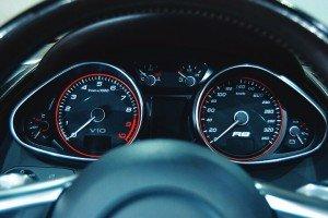 Zegary Audi R8 V10
