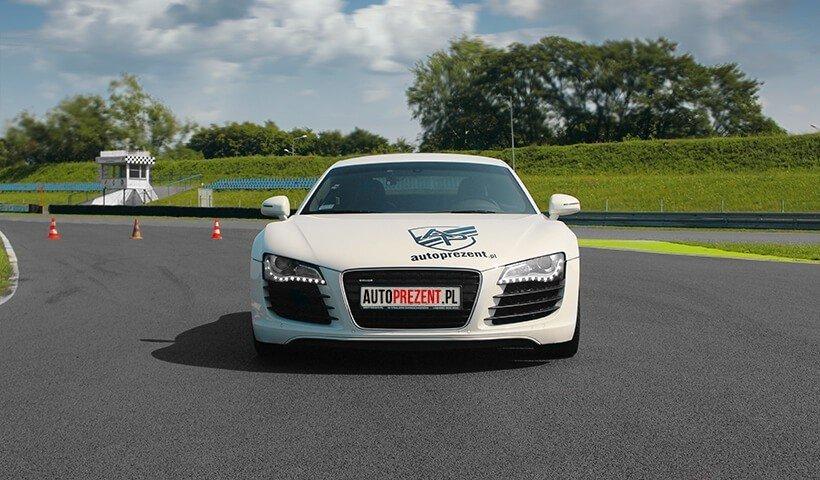 Audi R8 V8 przód