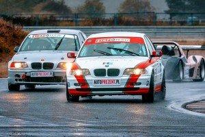 BMW_330l_e46 na torze wyścigowym