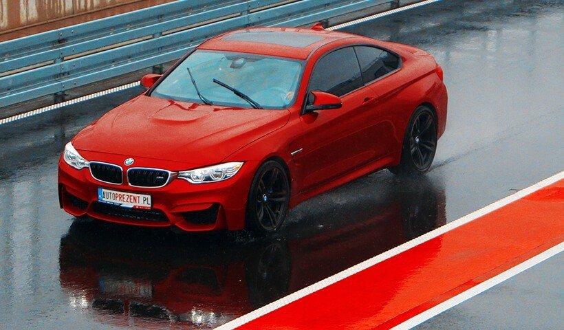BMW M4 z góry