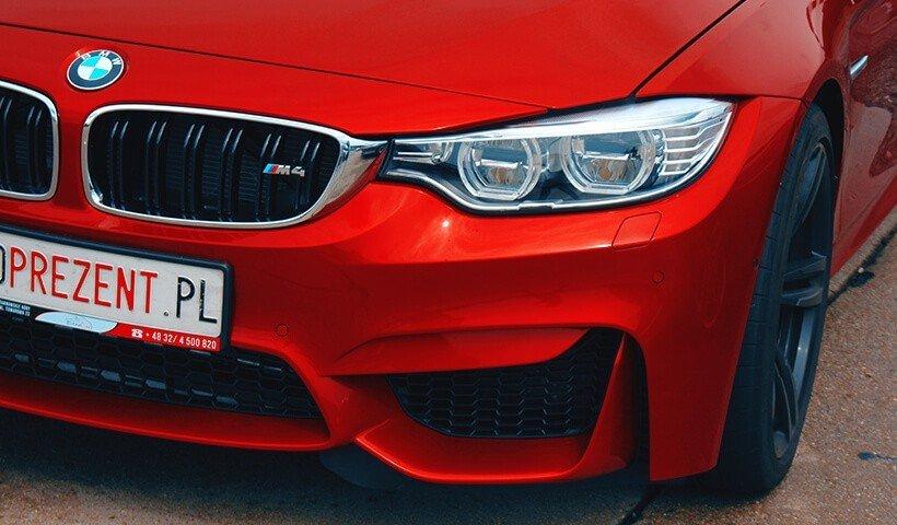 BMW M4 lampy