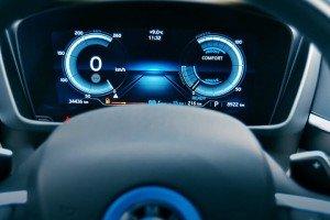 Bmw I8 zegary samochodu