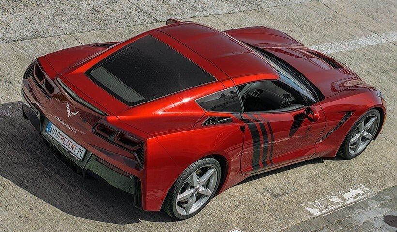Chevrolet_Corvette_C7 jazda na torze