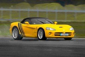 Dodge Viper SRT-10 żółty
