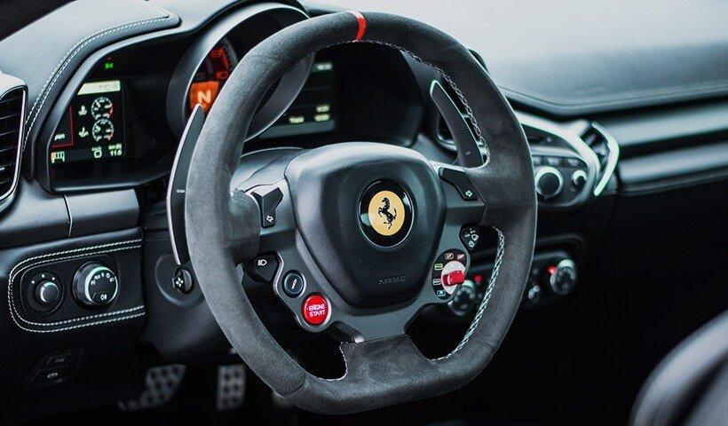 Kierownica Ferrari 458 iTALIA