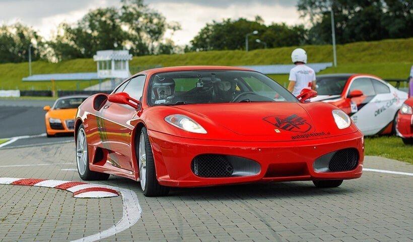 Ferrari F430 tor Poznań