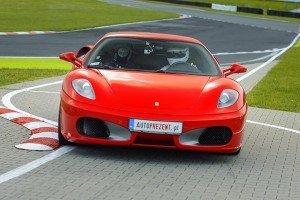 Ferrari F430 tor Poznań Karting
