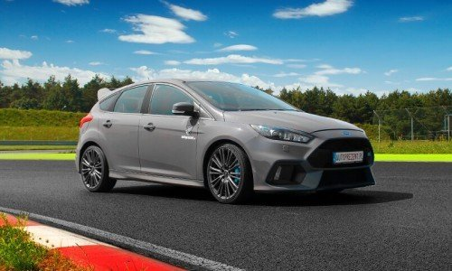 Ford Focus RS mk3 na torze