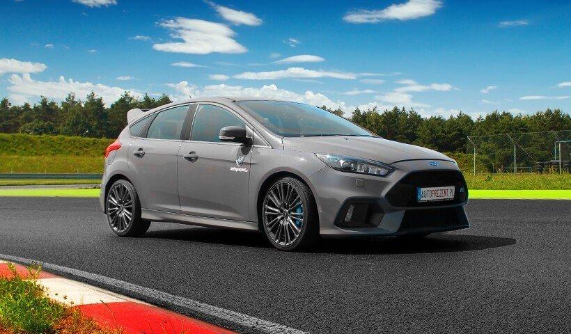 Ford Focus RS mk3 na torze