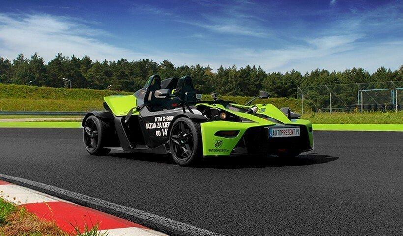 Zielony Ktm X-bow od autoprezent