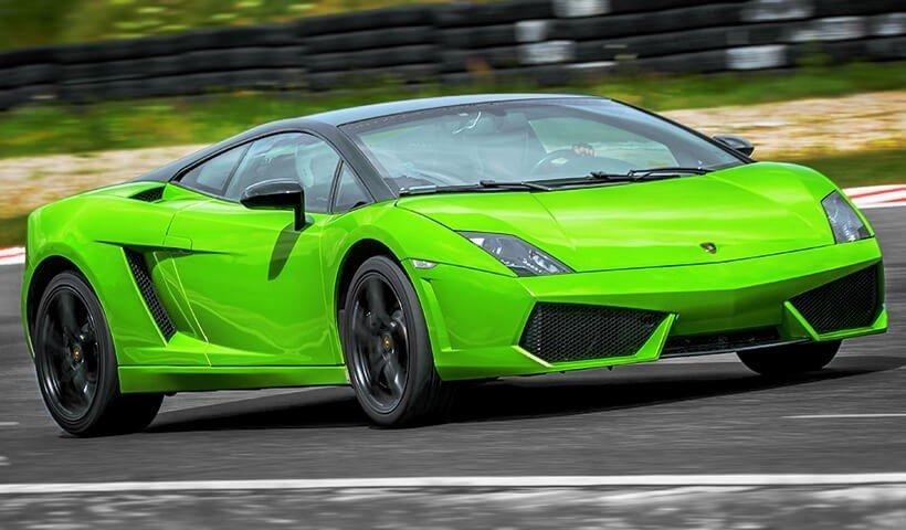 Zielone Gallardo od autoprezent