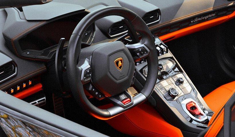 Kierownica Lamborghini Huracan