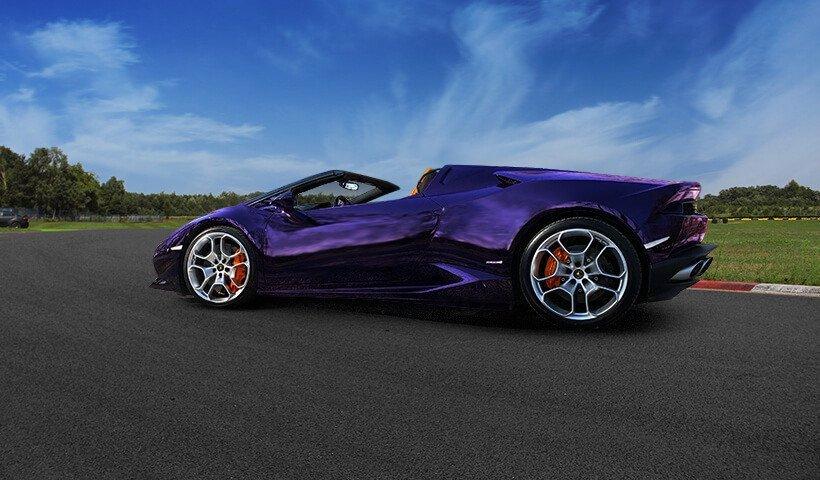 Lamborghini Gallardo z boku