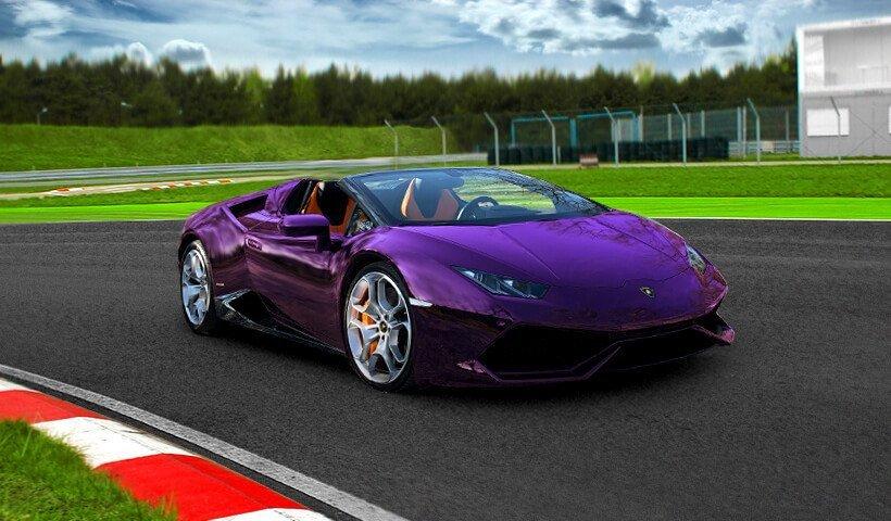 Przód Lamborghini Gallardo