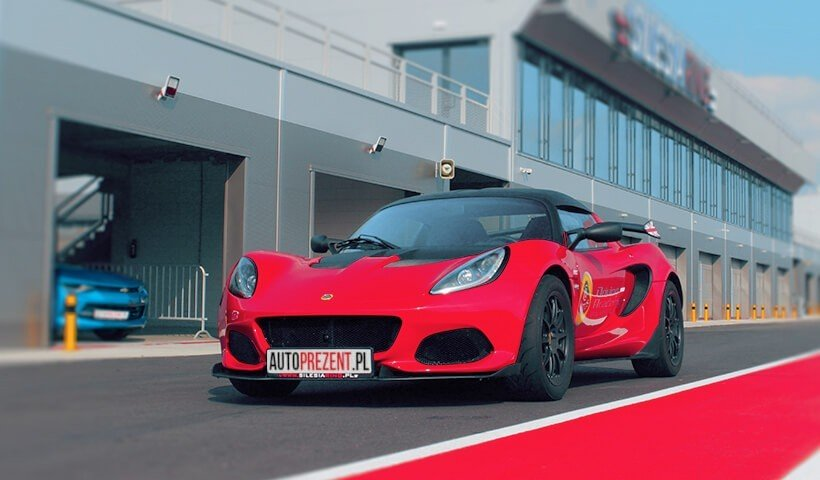 Lotus_Elise_CUP na torze Silesia Ring