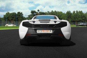 Tył McLarena 650s