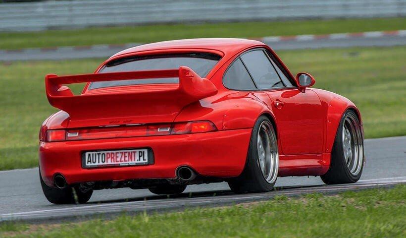 Porsche_911_GT2_993 na torze Poznań