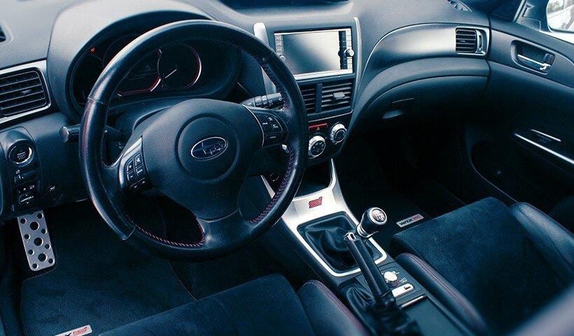 Wnętrze Subaru Impreza Wrx STI