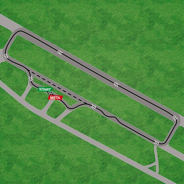 Mapa toru Bednary